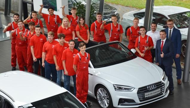 zu den faq - Audi Bewerbung Online